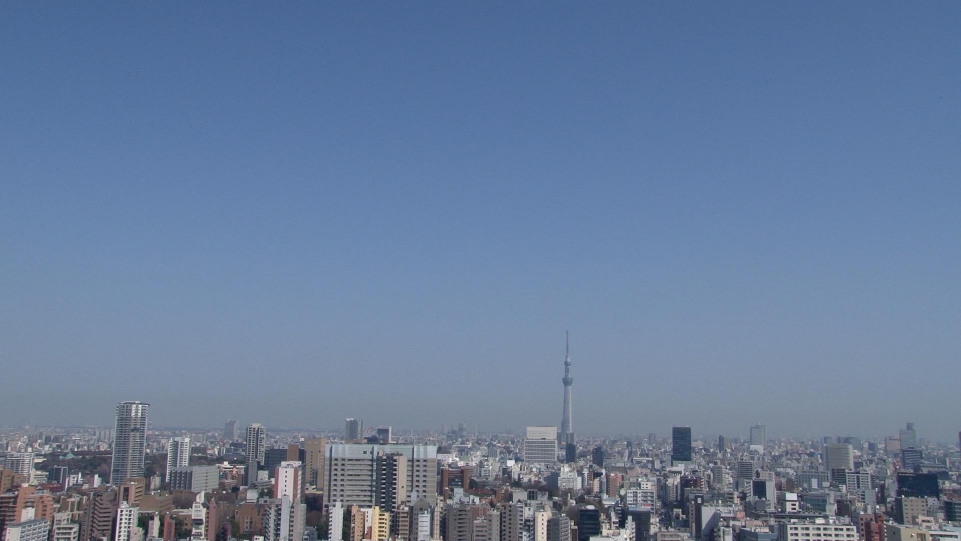 東京のロングショット 01