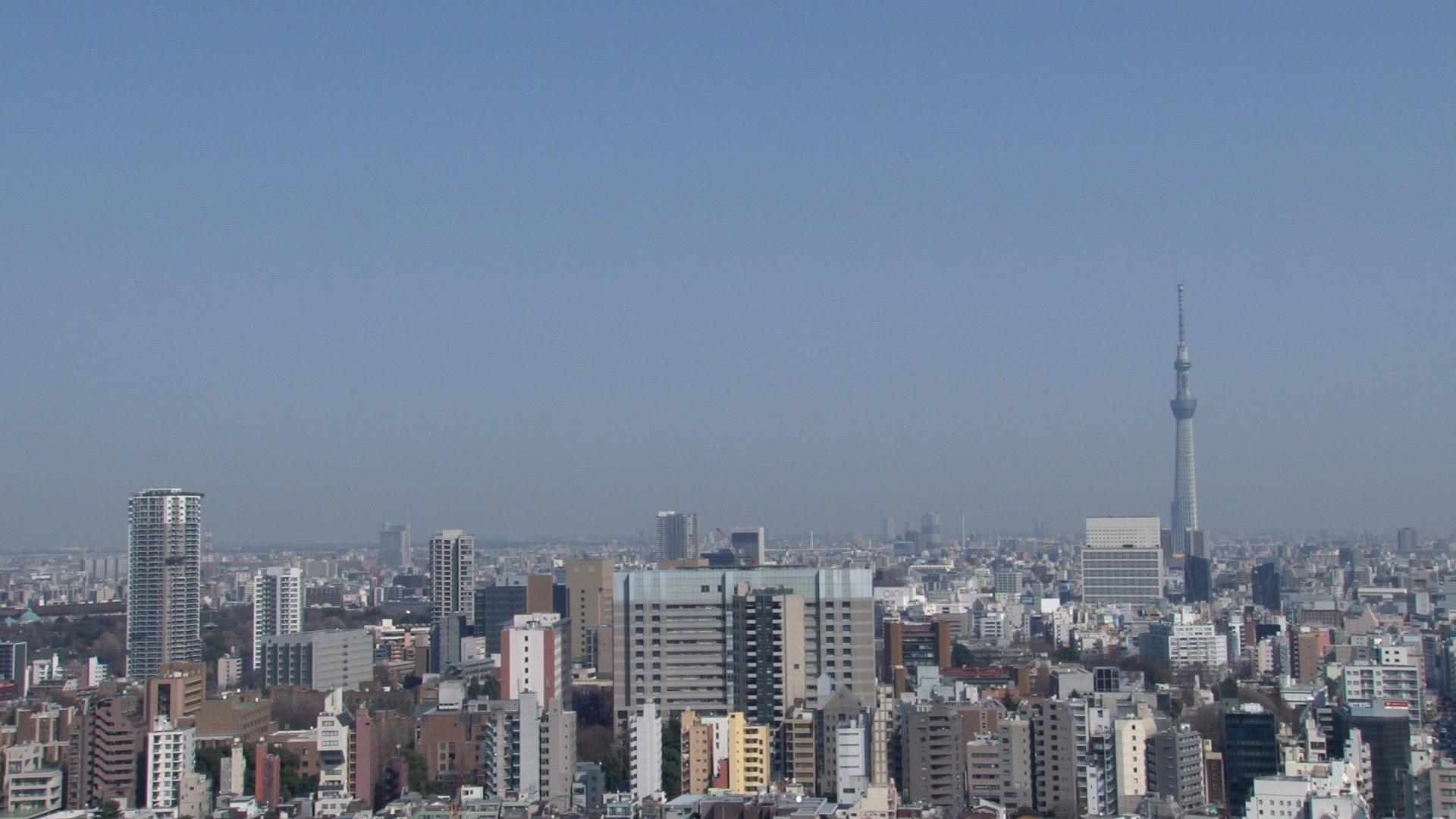 東京のロングショット 03