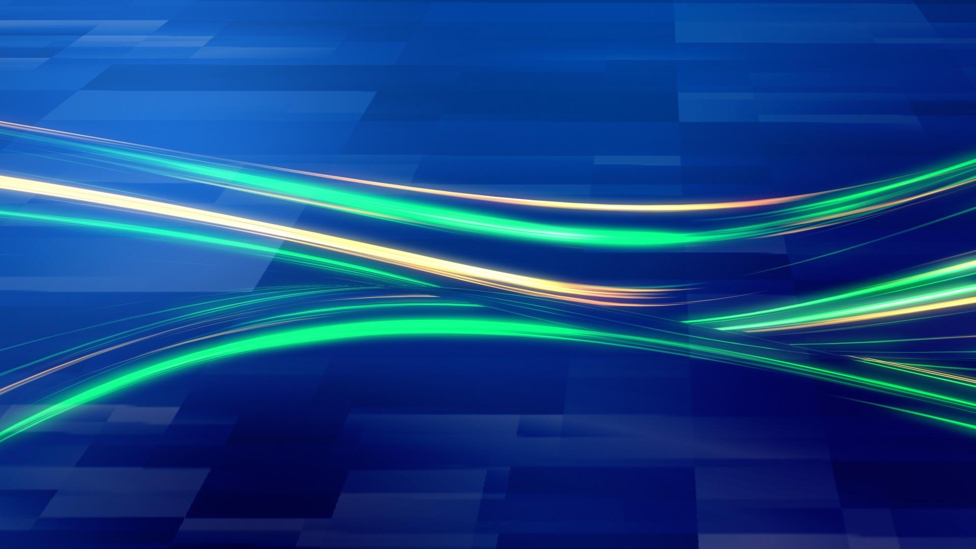 青いラインの背景素材