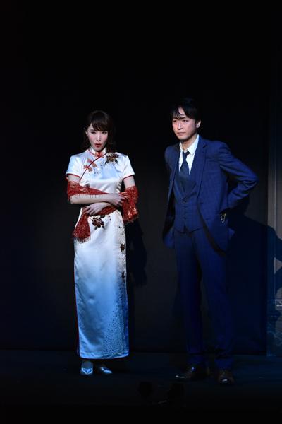 『怪人二十面相~黒蜥蜴二の替わり~』喜多村緑郎/貴城けい