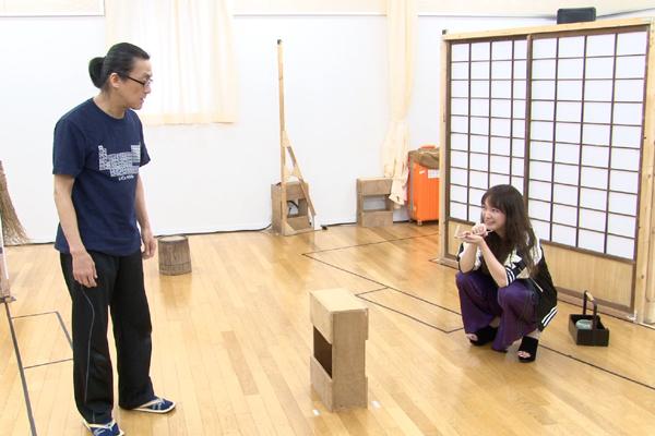 舞台「トリスケリオンの靴音」赤澤ムック・粟根まこと