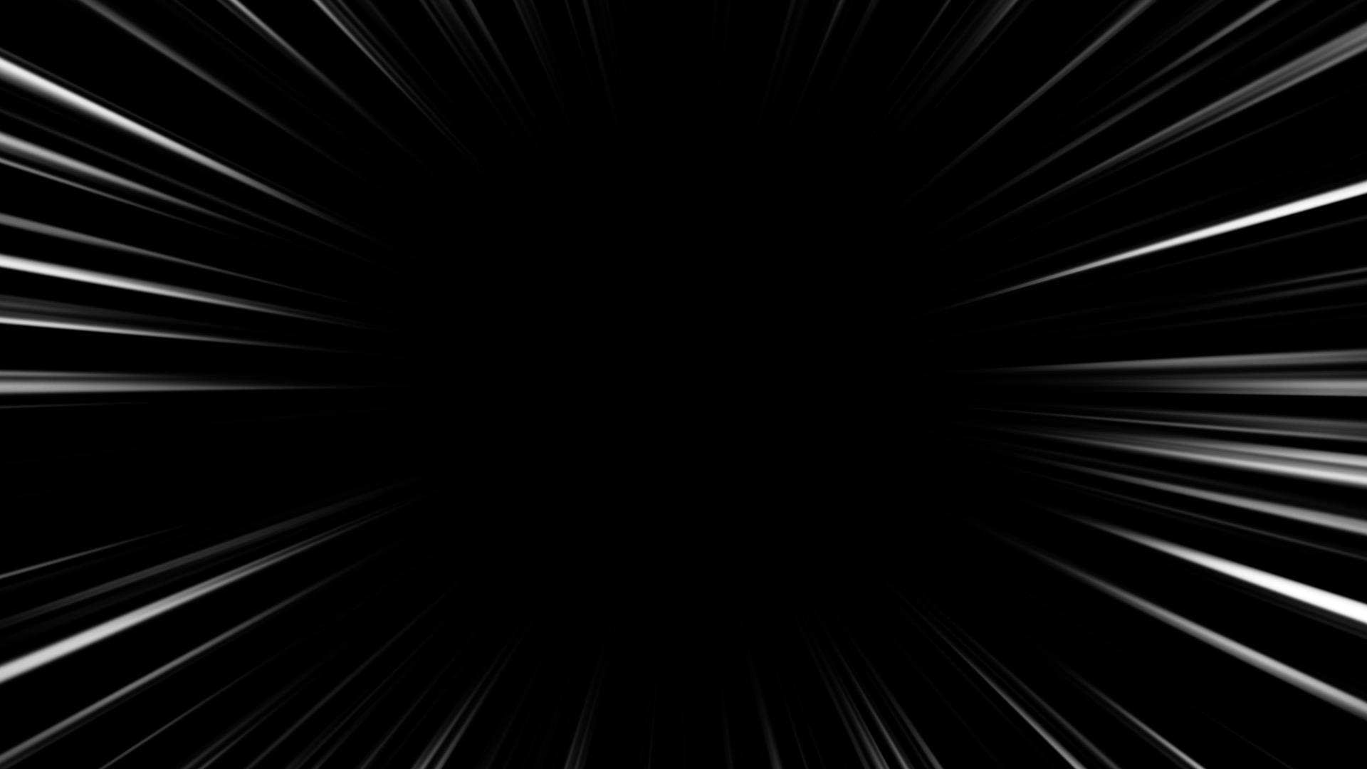 マンガっぽい集中線