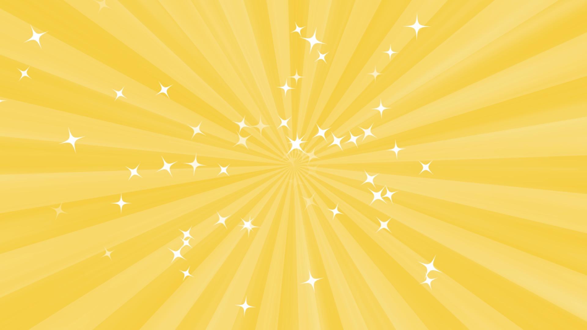 ゴールドの集中線
