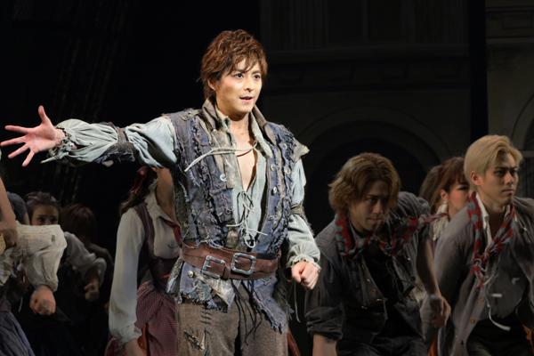 ミュージカル「1789」小池徹平 写真提供:東宝演劇部
