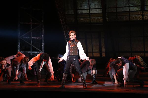 ミュージカル「1789」三浦涼介 写真提供:東宝演劇部