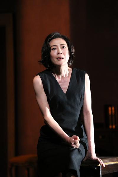 舞台「ヘッダ・ガブラー」寺島しのぶ 撮影:宮川舞子