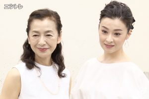 明治座 舞台「仮縫」檀れい、高橋惠子