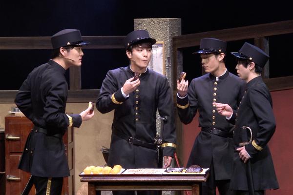 舞台「若様組まいる~アイスクリン強し~」入江甚儀、塩野瑛久、中村優一、安川純平