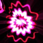 ピンク色の花のような背景動画素材