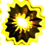 黄色の花のような背景動画素材