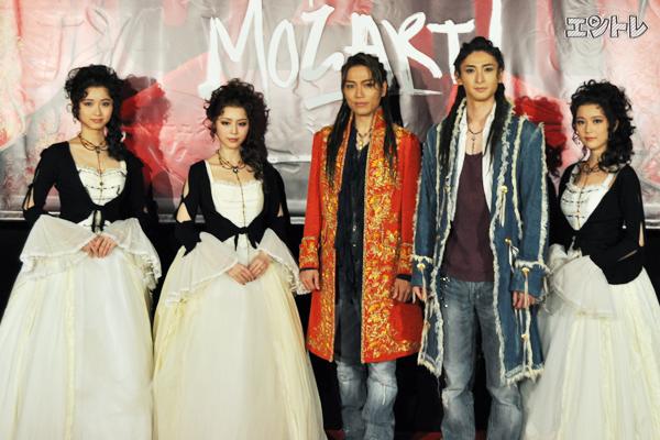 ミュージカル「モーツァルト!」フォトセッション