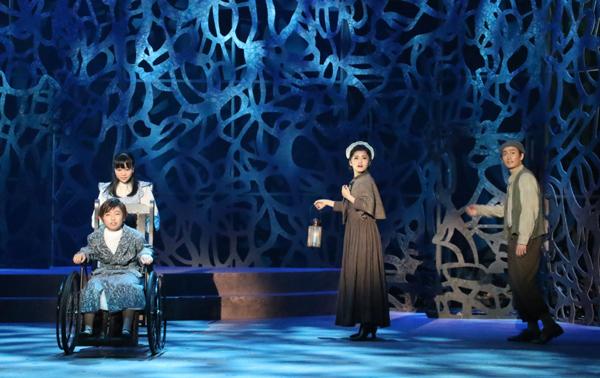 ミュージカル「シークレット・ガーデン」上垣ひなた、鈴木葵椎、昆夏美、松田凌