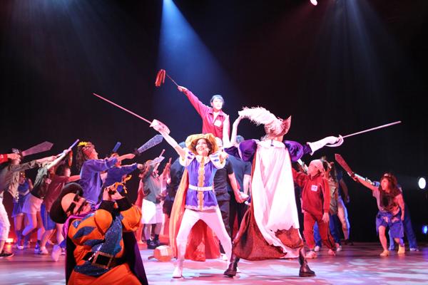 扉座「リボンの騎士」舞台写真