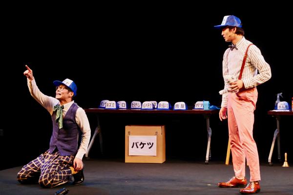 『グーテンバーグ!ザ・ミュージカル!2018』鯨井康介(ダグ)、上口耕平(バド)