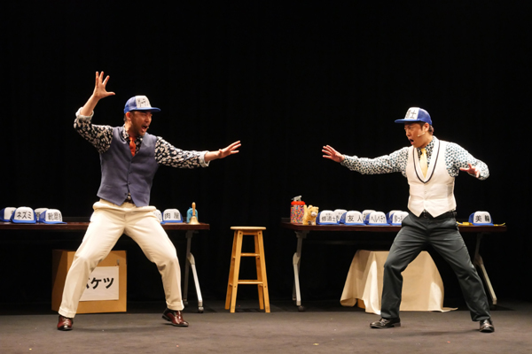 『グーテンバーグ!ザ・ミュージカル!2018』福井晶一(ダグ)、原田優一(バド)