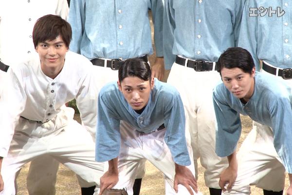 舞台「野球」安西慎太郎・多和田秀弥・内藤大希