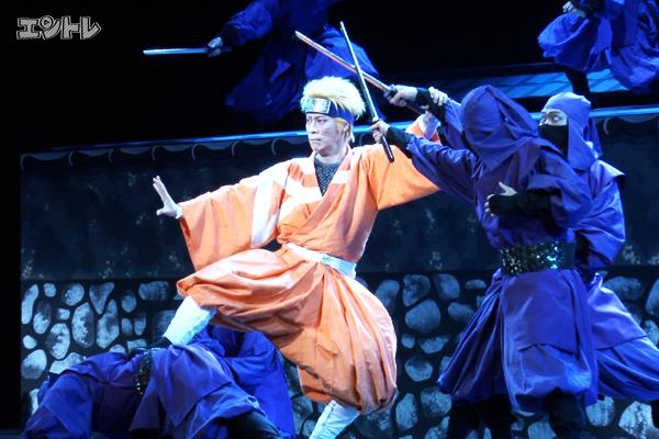 新作歌舞伎「NARUTO -ナルト-」坂東巳之助