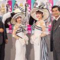 ミュージカル「マイ・フェア・レディ」右から寺脇康文・朝夏まなと・神田沙也加・別所哲也
