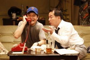 舞台「おかしな二人」(2014年) 撮影:石川純