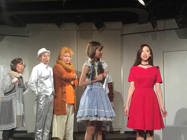 『新歌劇/NEO OZ あした、虹を渡って~in your shoes~』初演時の舞台写真