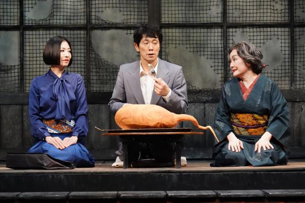 佐々木蔵之介、松雪泰子、白石加代子「ゲゲゲの先生へ」観劇レビュー