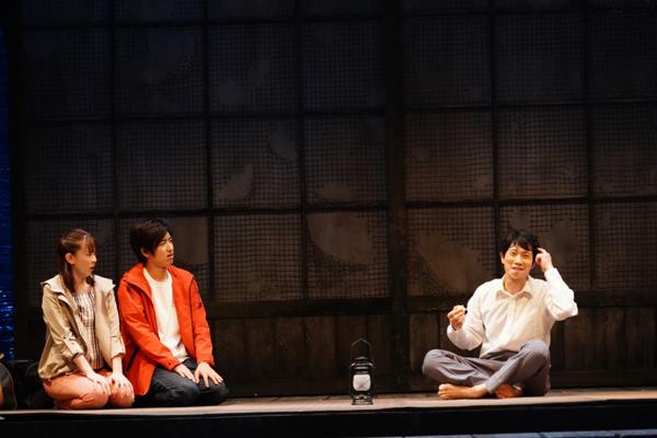 舞台「ゲゲゲの先生へ」佐々木蔵之介ほか 撮影:田中亜紀