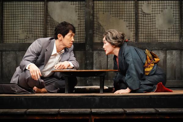 舞台「ゲゲゲの先生へ」佐々木蔵之介、白石加代子