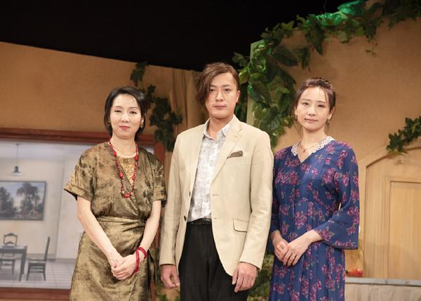 舞台「まさに世界の終わり」内 博貴 大空ゆうひ 那須佐代子