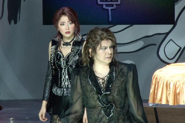 新感線☆RS「メタルマクベス」disc3 浦井健治、長澤まさみ
