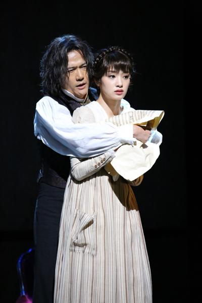 舞台「No.9 -不滅の旋律-」稲垣吾郎、剛力彩芽 photo 岩田えり