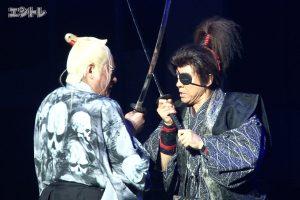 舞台「魔界転生」上川隆也、松平健