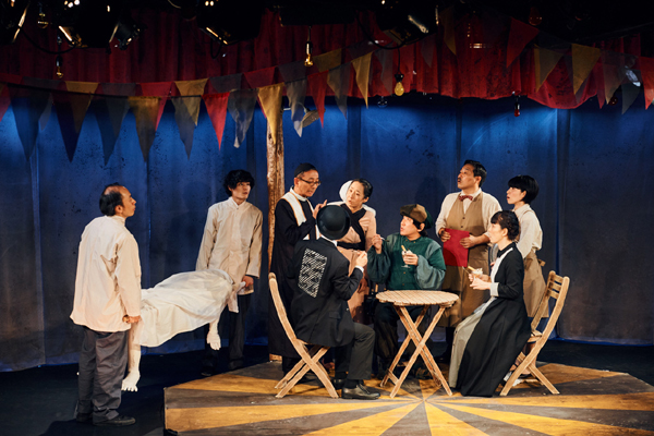 山崎一が初演出に挑戦! 劇壇ガルバ「森から来たカーニバル」