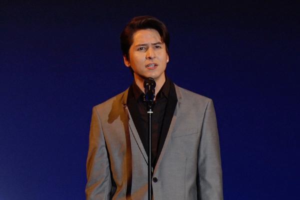 ミュージカル「レ・ミゼラブル」製作発表より 伊礼彼方