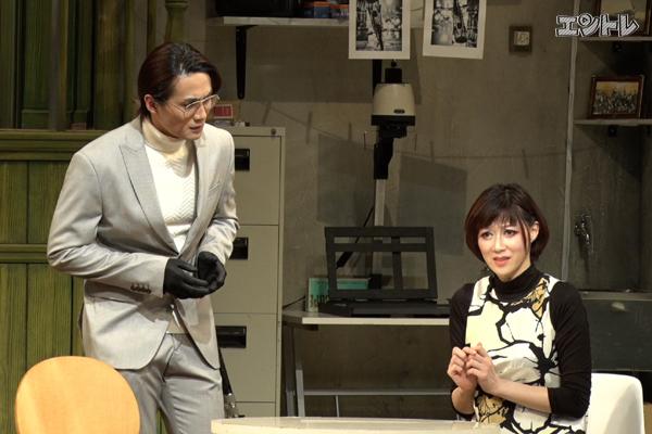 加藤和樹×凰稀かなめ 舞台「暗くなるまで待って」