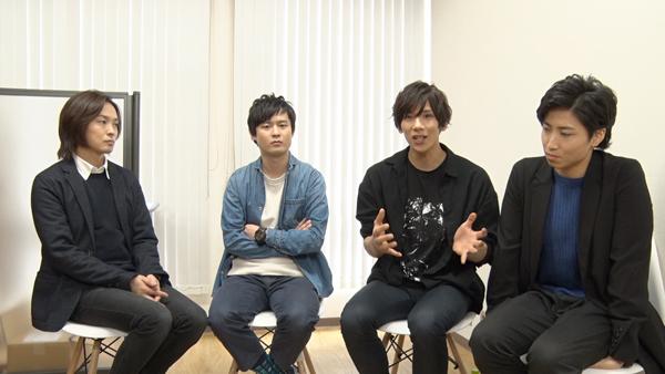 左から田渕法明、石田直也、松田岳、山本誠大