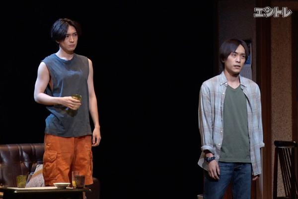 【動画1分】松下優也、平間壮一 舞台『黒白珠』が開幕
