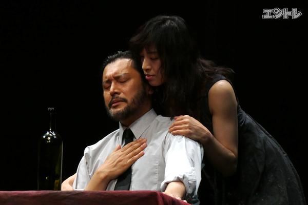 舞台『オレステイア』横田栄司、音月桂