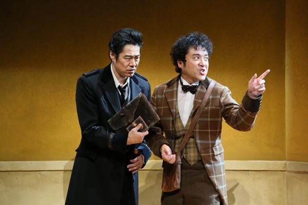 『恋のヴェネチア狂騒曲』ムロツヨシ・堤真一 撮影:宮川舞子