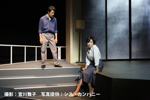 シス・カンパニー公演「死と乙女」 撮影:宮川舞子、または、写真提供:シス・カンパニー