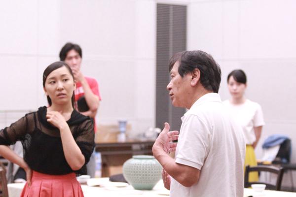新国立劇場演劇研修所『会議』稽古場より
