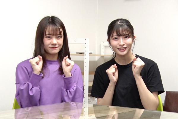 立仙愛理、行天優莉奈(AKB48チーム8)