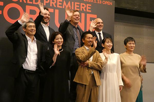 森田剛、吉岡里帆らが出演する舞台『FORTUNE』製作発表