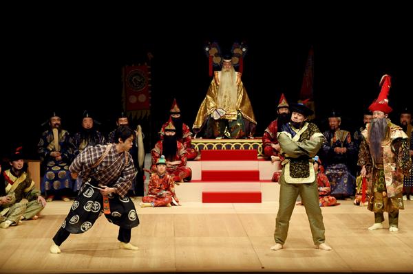 『唐人相撲』舞台写真(撮影:細野晋司)