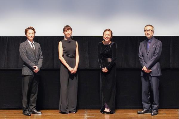 左から、小池徹平、宮沢りえ、大竹しのぶ、松尾スズキ 撮影:宮川舞子