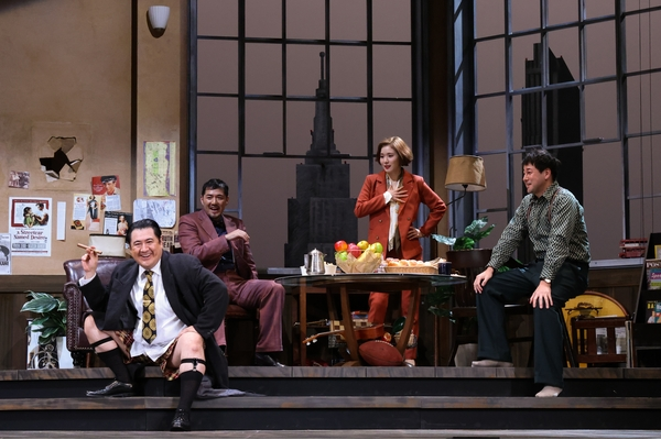 シス・カンパニー公演『23階の笑い』 撮影:宮川舞子