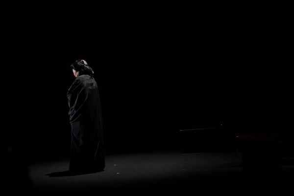 夢枕獏「ちょうちんが割れた話」撮影:Ari.M