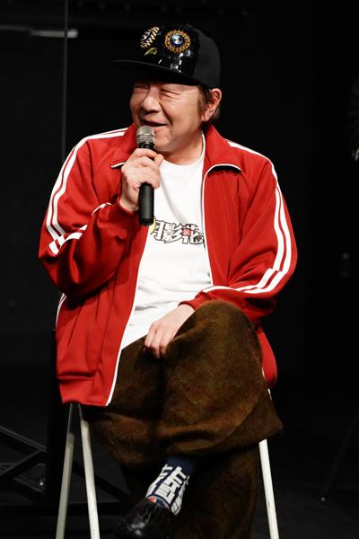 Yellow新感線『月影花之丞大逆転』製作発表 古田新太 撮影:田中亜紀