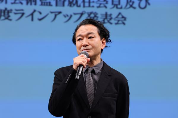 KAAT神奈川芸術劇場ラインアップ発表会見 白井晃