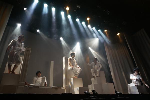 三ツ星キッチン『LOVE』2014年6月上演時の舞台写真
