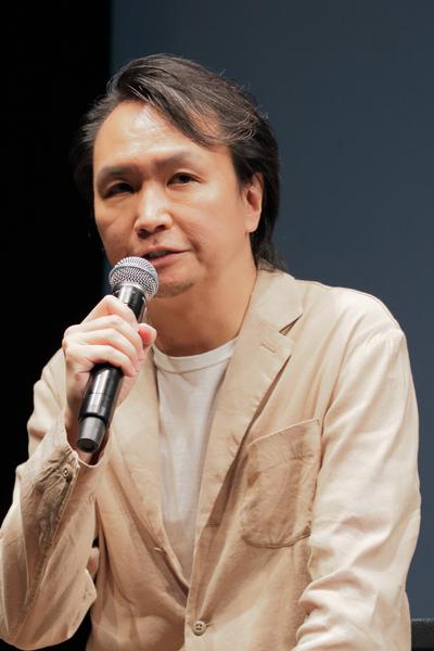 長塚圭史 撮影:阿久津知宏